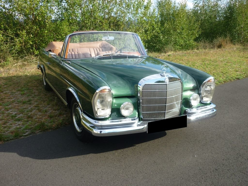 1964 Mercedes-Benz 220 SE b - Timelessly beautiful convertible For Sale (picture 2 of 6)