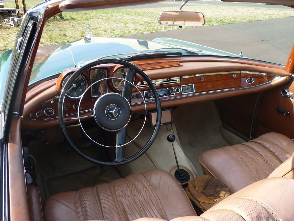 1964 Mercedes-Benz 220 SE b - Timelessly beautiful convertible For Sale (picture 5 of 6)