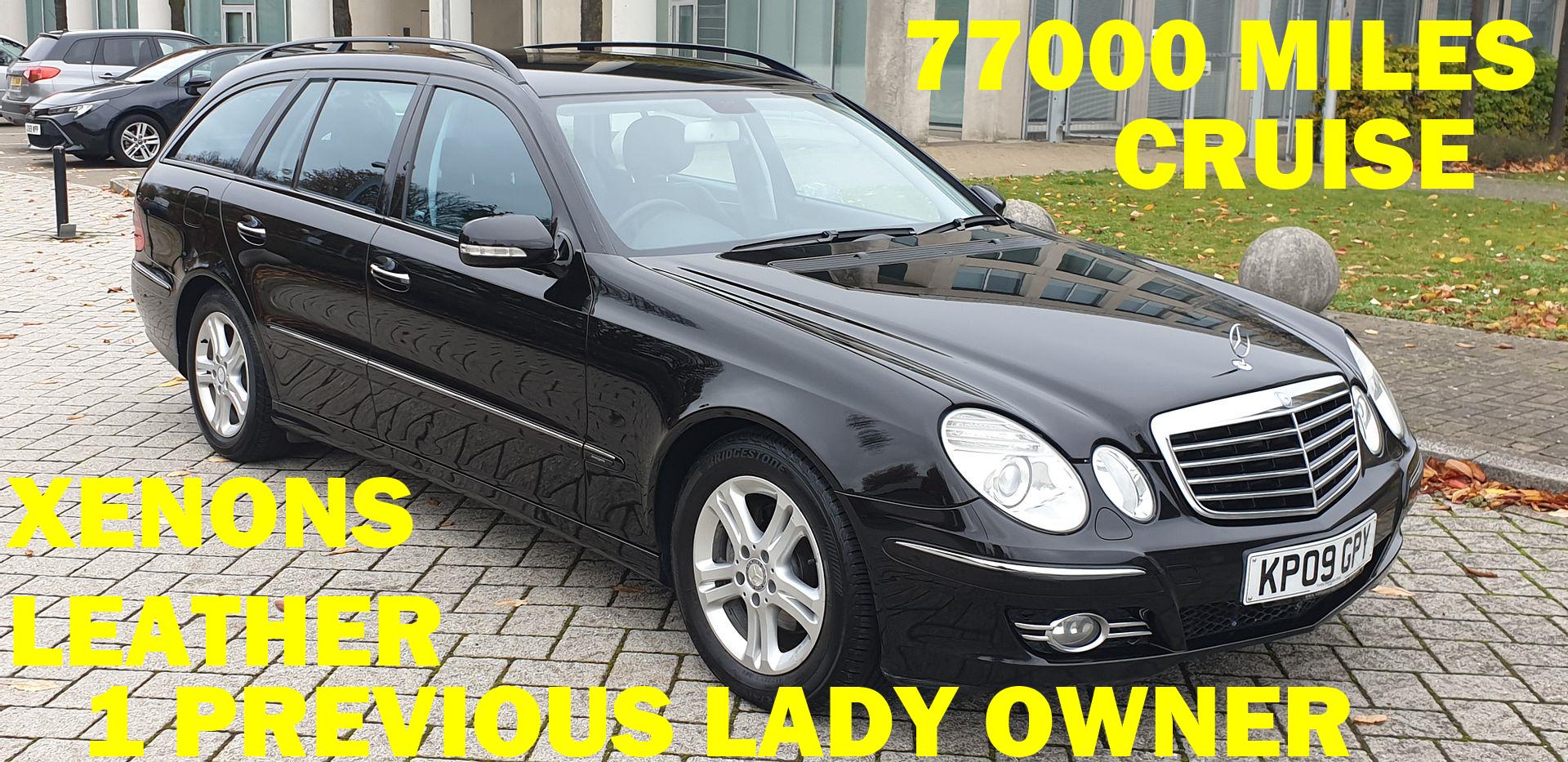 2009 Mercedes e220 cdi avantgarde estate 1 prev owner For Sale (picture 1 of 6)