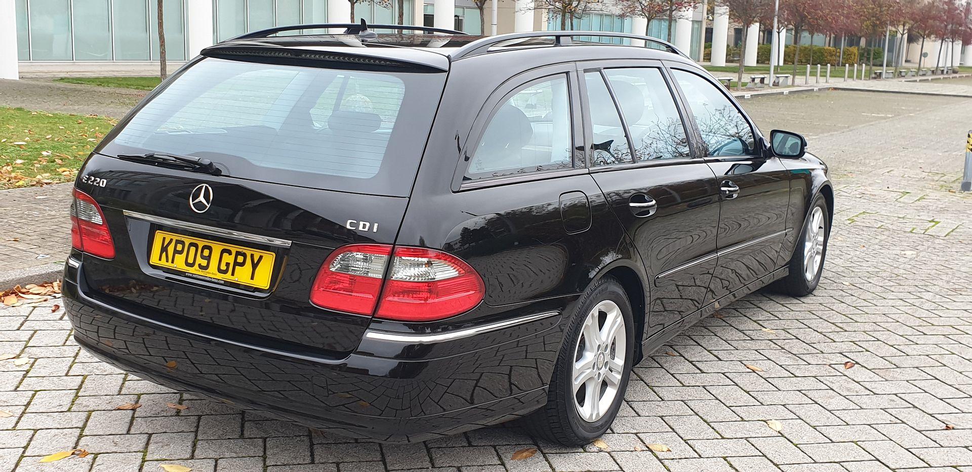 2009 Mercedes e220 cdi avantgarde estate 1 prev owner For Sale (picture 3 of 6)