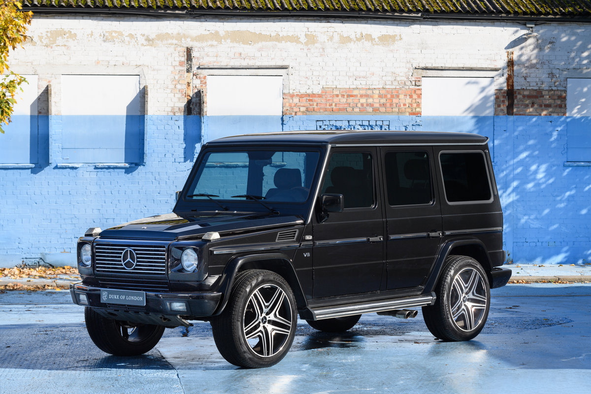 2000 Mercedes-Benz G55 SOLD (picture 1 of 13)