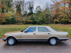 Picture of 1985 Mercedes 280 SE W126.. One Owner + FSH.. Rare 5-Speed Manual SOLD