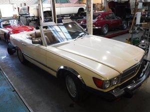 Picture of Mercedes Benz 450SL V8 4.5L 1980 For Sale