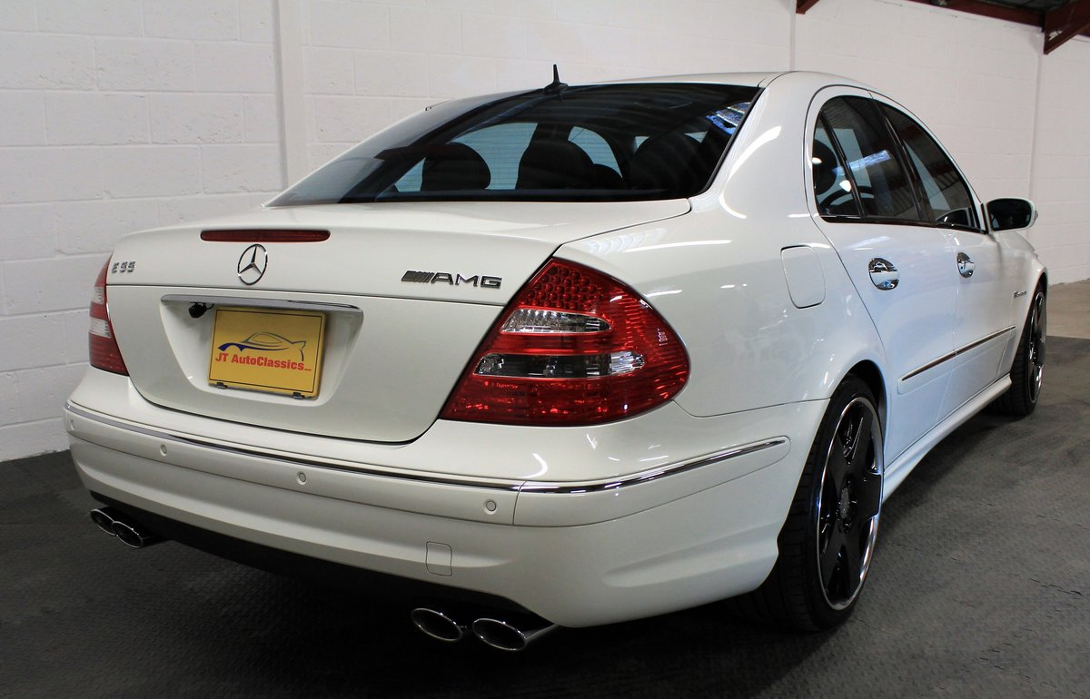 2005 Mercedes-Benz W211 E55 AMG,25,076 miles,Alabaster white For Sale (picture 2 of 6)