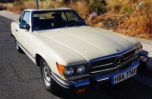 Picture of 1984 mercedes 380sl in great condition