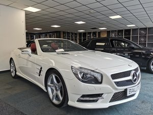 MERCEDES BENZ SL350 ROADSTER *RED LEATHER, 1 OWNER