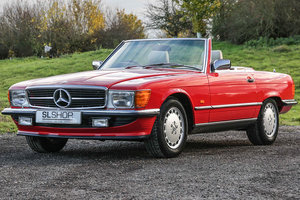 Picture of 1989 Mercedes-Benz 300SL (R107) Beautiful in Red #2249 For Sale