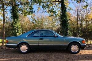 Picture of 1988/F Mercedes 560SEC **SOLD**. 500SEC 420 SEC For Sale