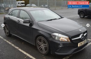 2017 Mercedes A200 D AMG LINE 28,826 Miles for auction 25th