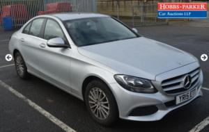 Mercedes C220 SE Executive -77,726 Miles - Auction 17th