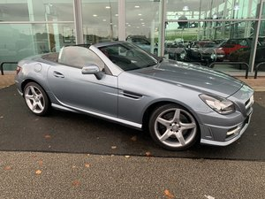 Mercedes SLK AMG 259 Sport blue Efficiency