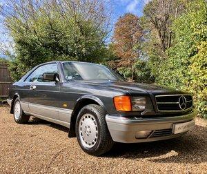 Picture of 1988/E Mercedes 500SEC C126 coupe. 560SEC 500 SEC