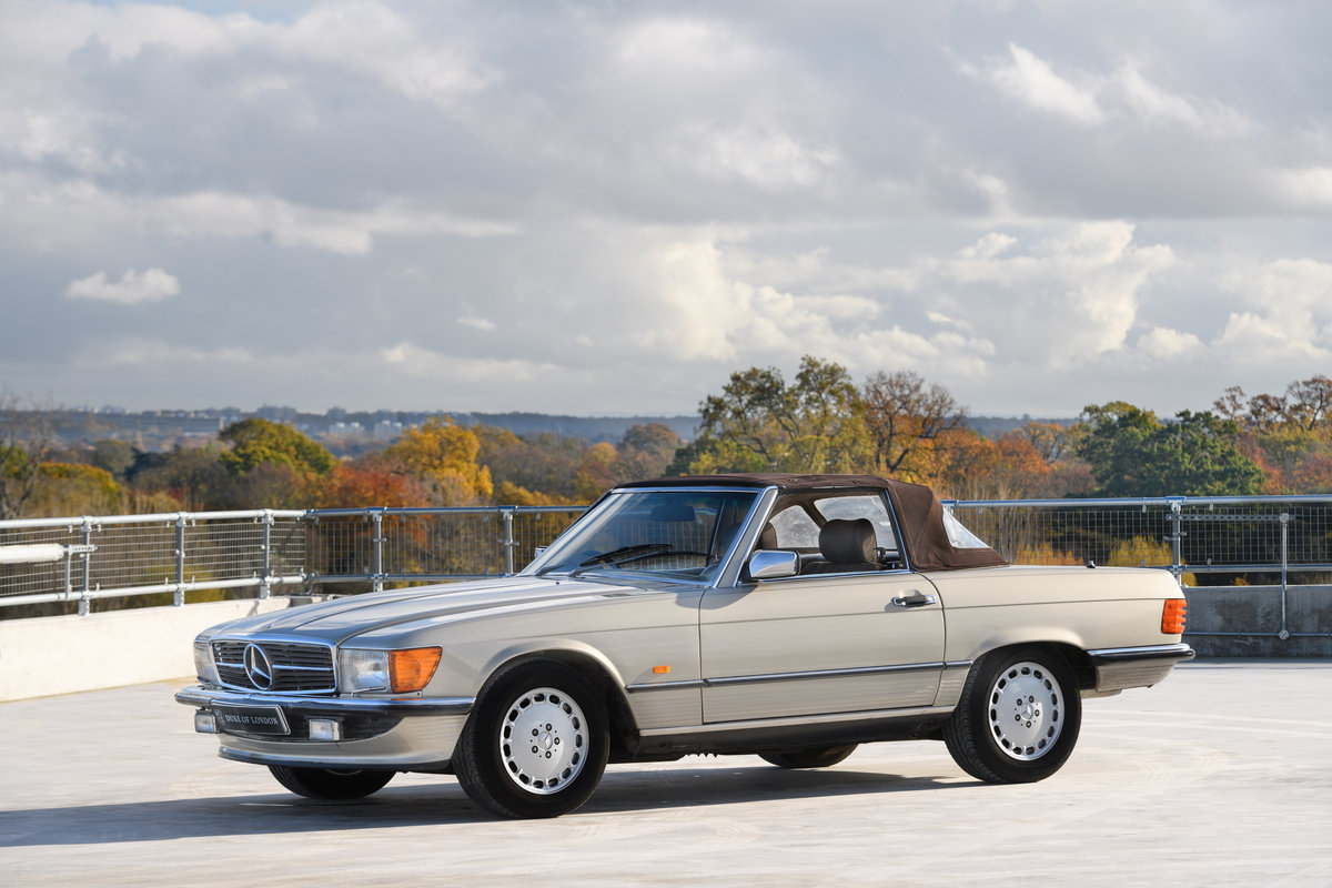 1987 Mercedes-Benz 420 SL For Sale (picture 2 of 15)