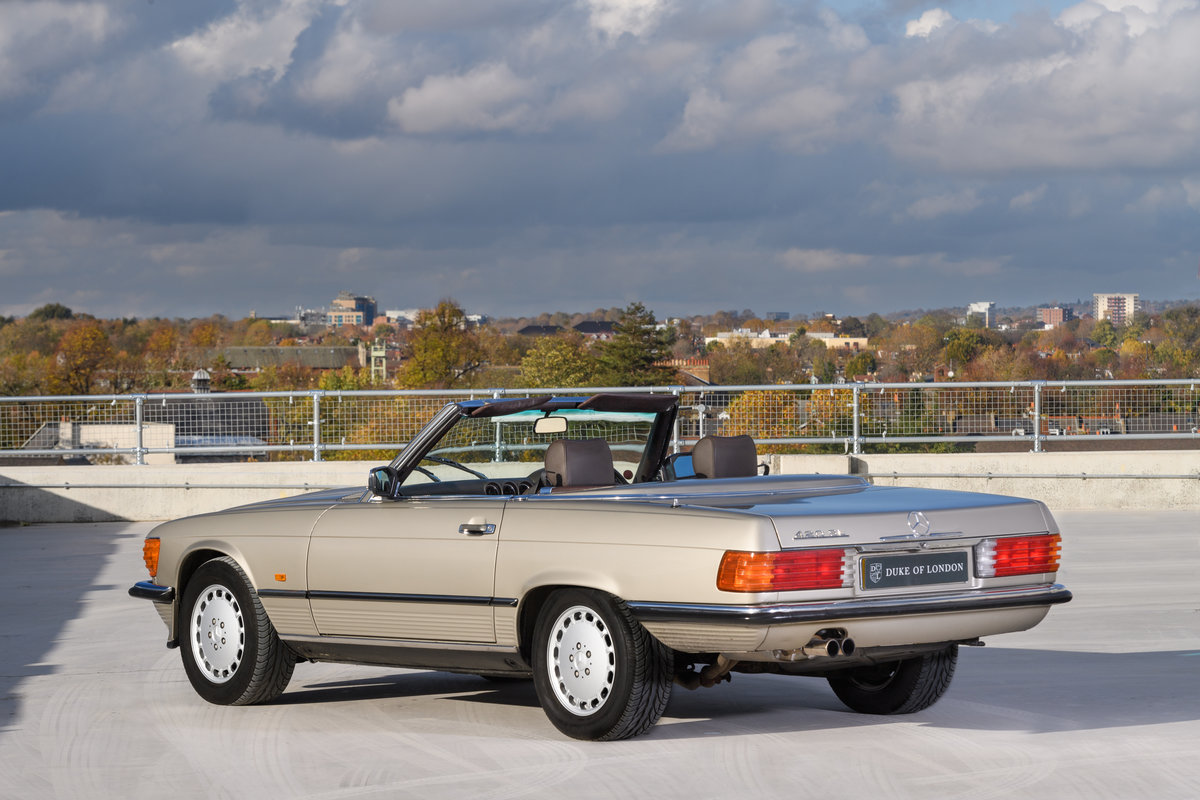 1987 Mercedes-Benz 420 SL For Sale (picture 4 of 15)