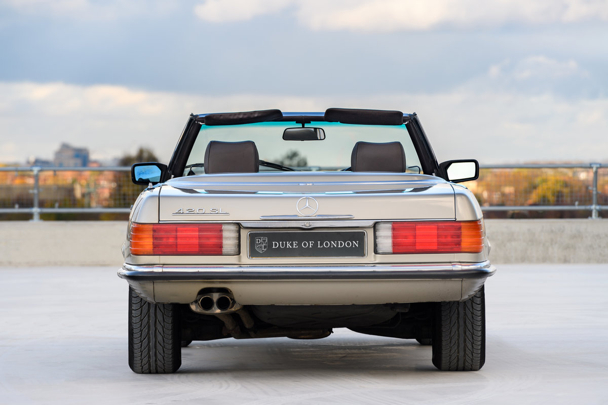 1987 Mercedes-Benz 420 SL For Sale (picture 6 of 15)