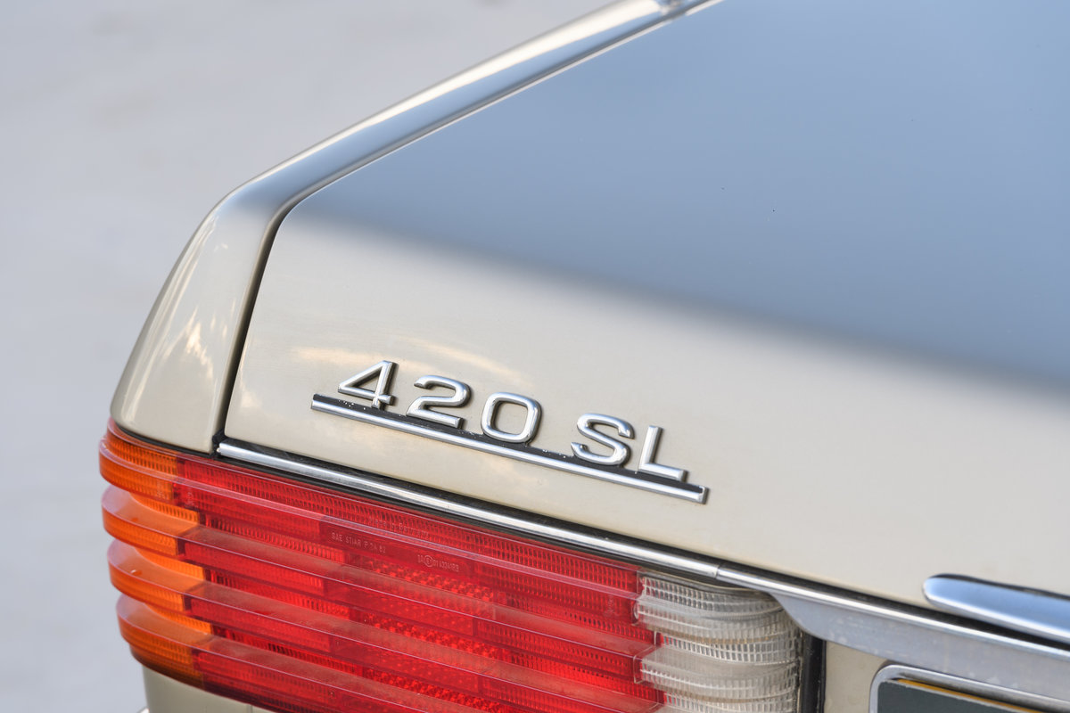 1987 Mercedes-Benz 420 SL For Sale (picture 9 of 15)