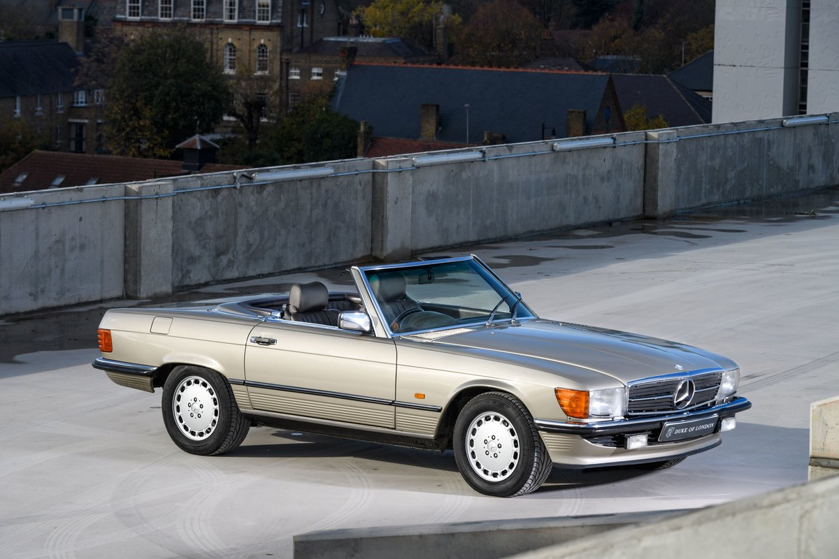 1987 Mercedes-Benz 420 SL For Sale (picture 1 of 15)