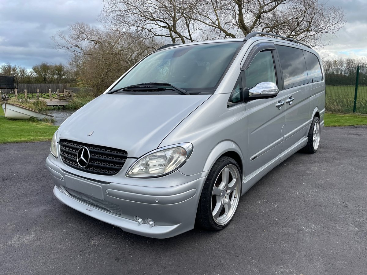 2006 MERCEDES-BENZ VIANO 3.2 AMBIENTE LONG WHEEL BASE BRABUS STYL For Sale (picture 1 of 6)