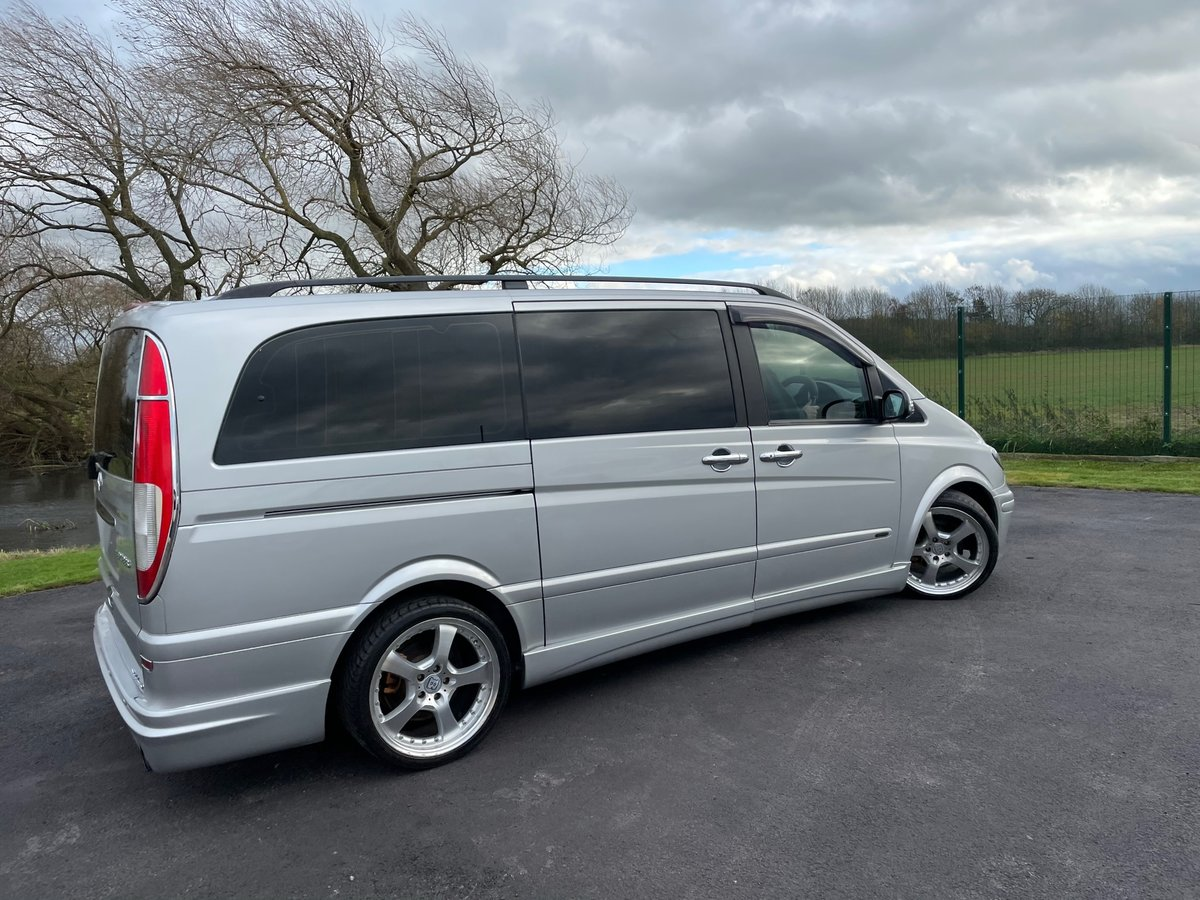 2006 MERCEDES-BENZ VIANO 3.2 AMBIENTE LONG WHEEL BASE BRABUS STYL For Sale (picture 2 of 6)
