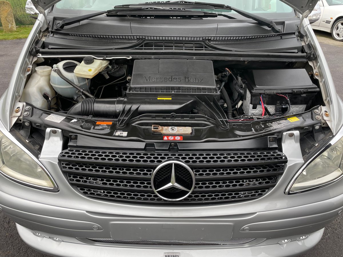 2006 MERCEDES-BENZ VIANO 3.2 AMBIENTE LONG WHEEL BASE BRABUS STYL For Sale (picture 6 of 6)