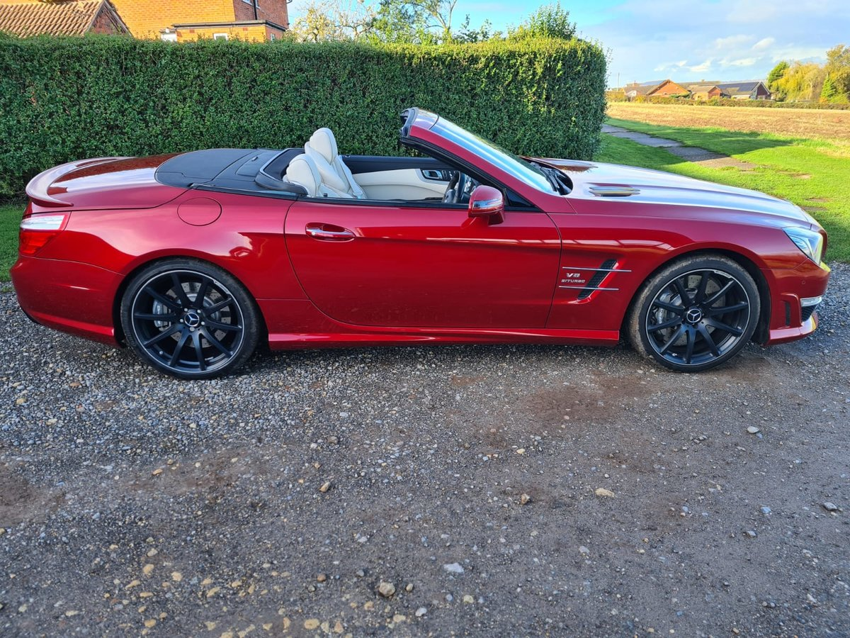 2015 Mercedes SL63 SOLD (picture 1 of 5)