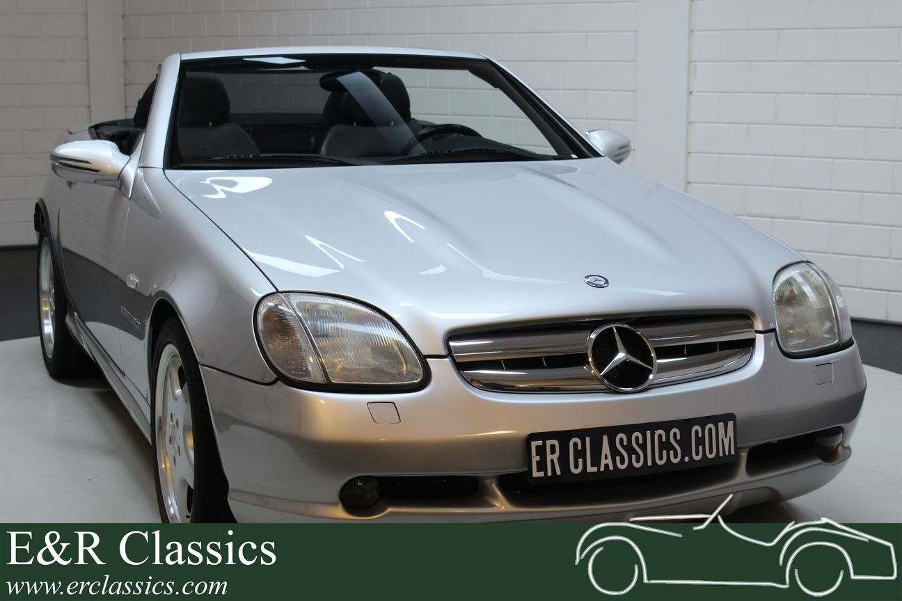 Mercedes-Benz SLK 230 1997 only 72.909 km For Sale (picture 1 of 6)