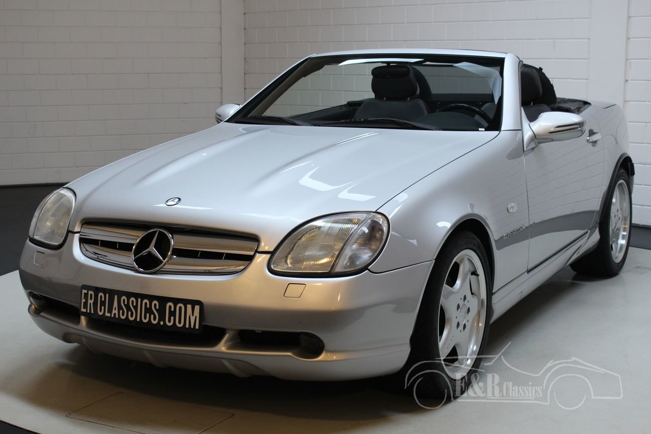 Mercedes-Benz SLK 230 1997 only 72.909 km For Sale (picture 4 of 6)