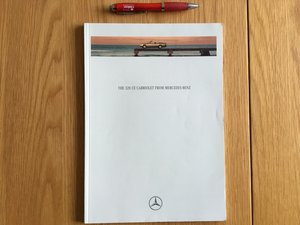 Picture of 1992 Mercedes CE320 Cabriolet brochure For Sale