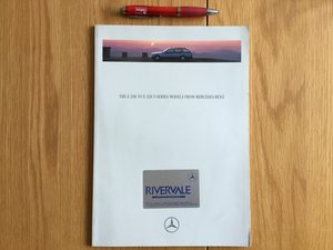 Mercedes E200/E320 T series brochure