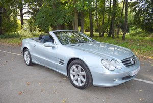 Picture of 2003/03 Mercedes SL500 Convertible in Chalcedony Blue