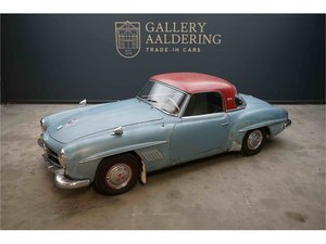 Mercedes-Benz 190 SL Solid base for restauration, original c