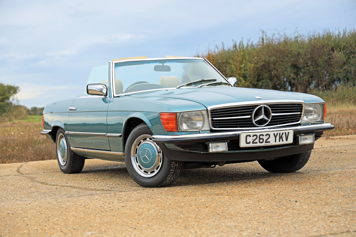 1985 Mercedes-Benz 280 SL (R107) For Sale (picture 2 of 10)