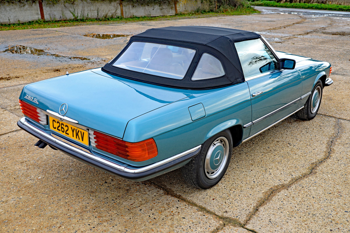 1985 Mercedes-Benz 280 SL (R107) For Sale (picture 3 of 10)