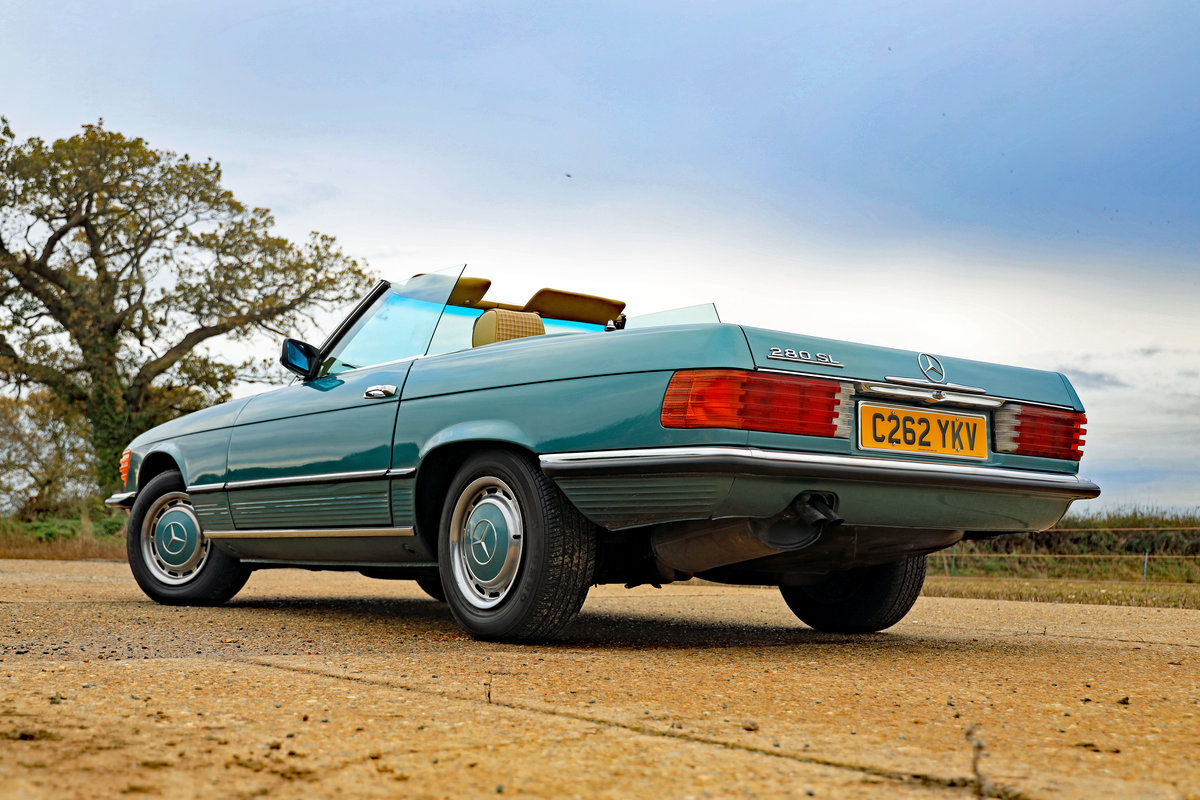 1985 Mercedes-Benz 280 SL (R107) For Sale (picture 4 of 10)