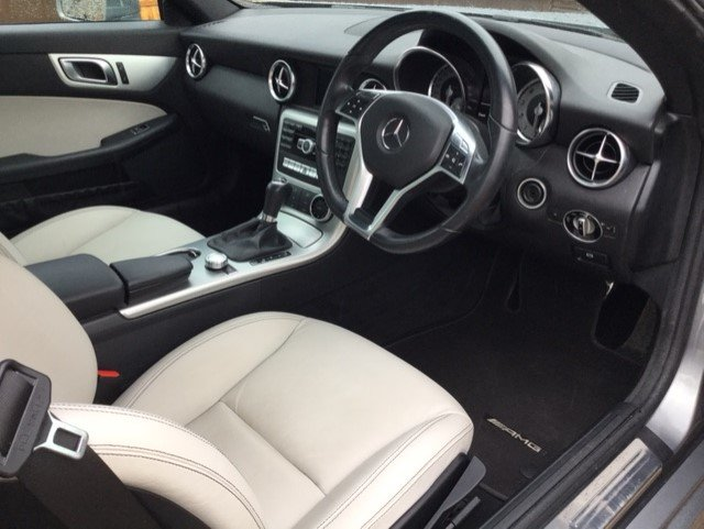 2015 Mercedes Benz SLK 200 AMG Sport Blue Efficiency For Sale (picture 3 of 6)
