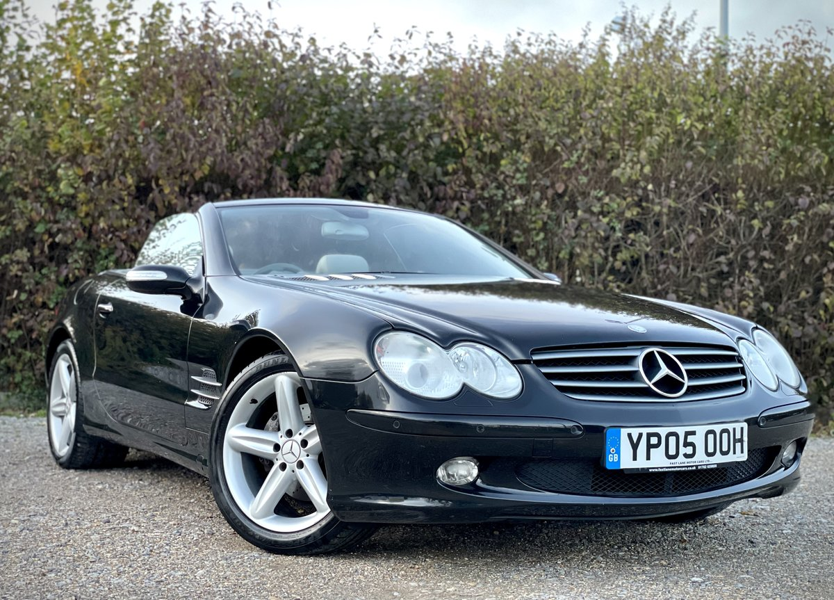 2005 Mercedes SL350 Convertible 3.7 Auto Pan Roof FREE DELIVERY For Sale (picture 1 of 6)