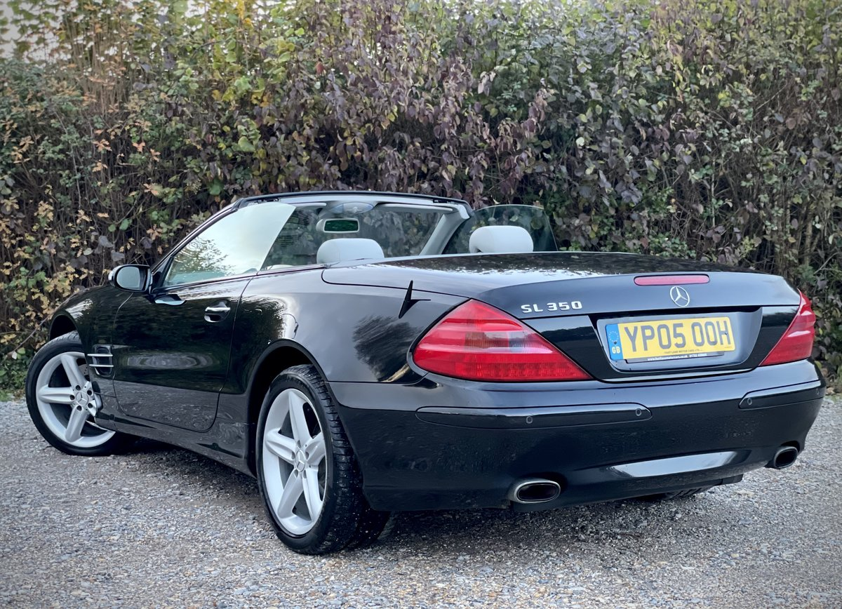 2005 Mercedes SL350 Convertible 3.7 Auto Pan Roof FREE DELIVERY For Sale (picture 2 of 6)