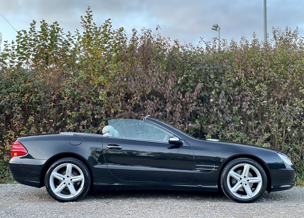 2005 Mercedes SL350 Convertible 3.7 Auto Pan Roof FREE DELIVERY For Sale (picture 3 of 6)