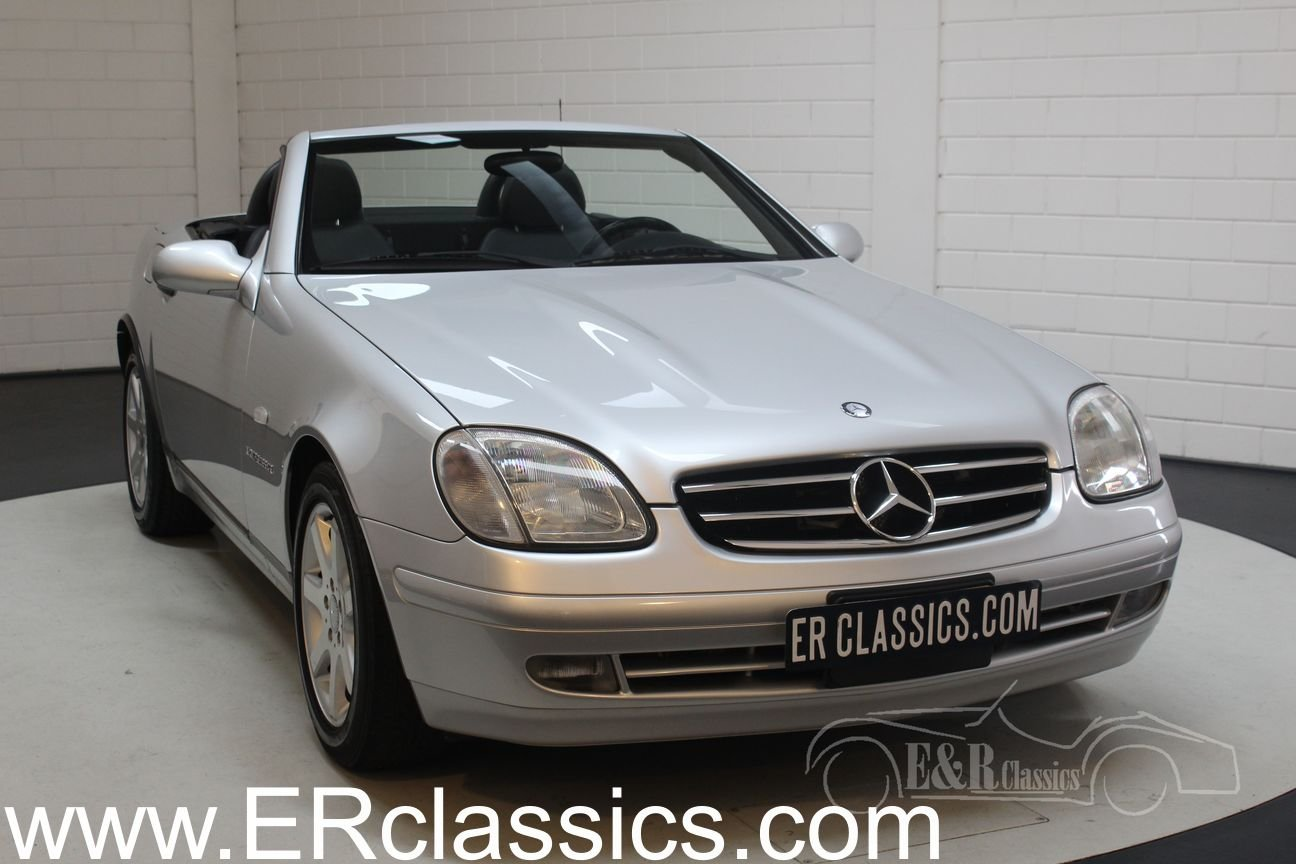Mercedes-Benz SLK 230 1999 Silver-grey metallic For Sale (picture 1 of 6)
