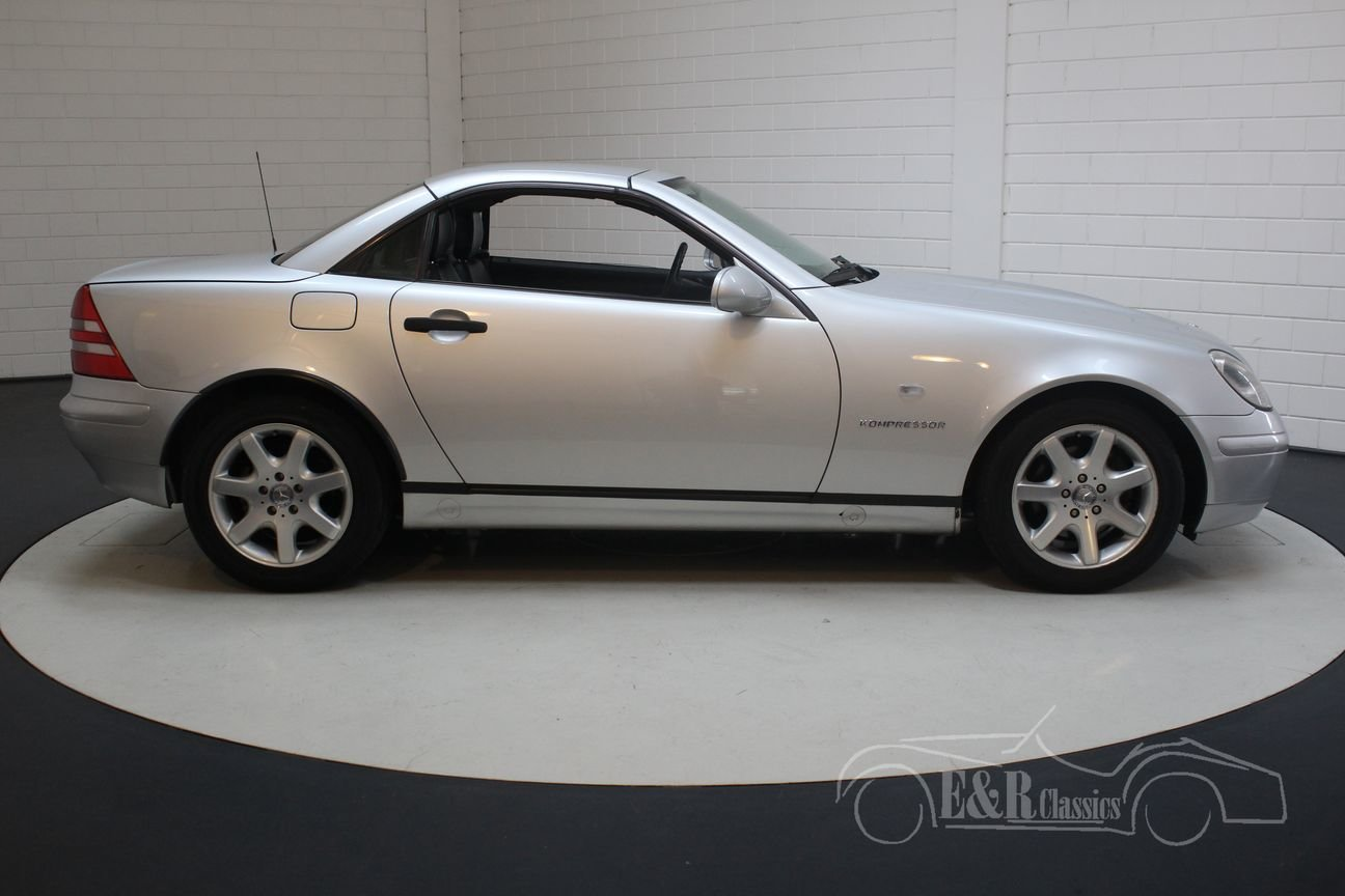 Mercedes-Benz SLK 230 1999 Silver-grey metallic For Sale (picture 6 of 6)