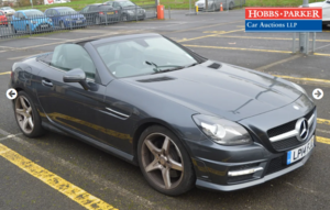 Picture of 2014 Mercedes SLK 250 AMG sport 33,847 Miles for auction 25th For Sale by Auction
