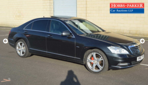 2012 Mercedes S350 Bluetec B 128,029 miles for auction 25th