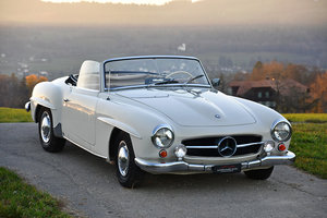 Picture of 1956 This early 190 SL with bucket seats comes from a long term o For Sale