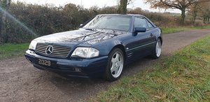 Picture of 1998 SL 320. 57k Miles. 40th Anniversary Ltd Edition. 1 of 75. SOLD