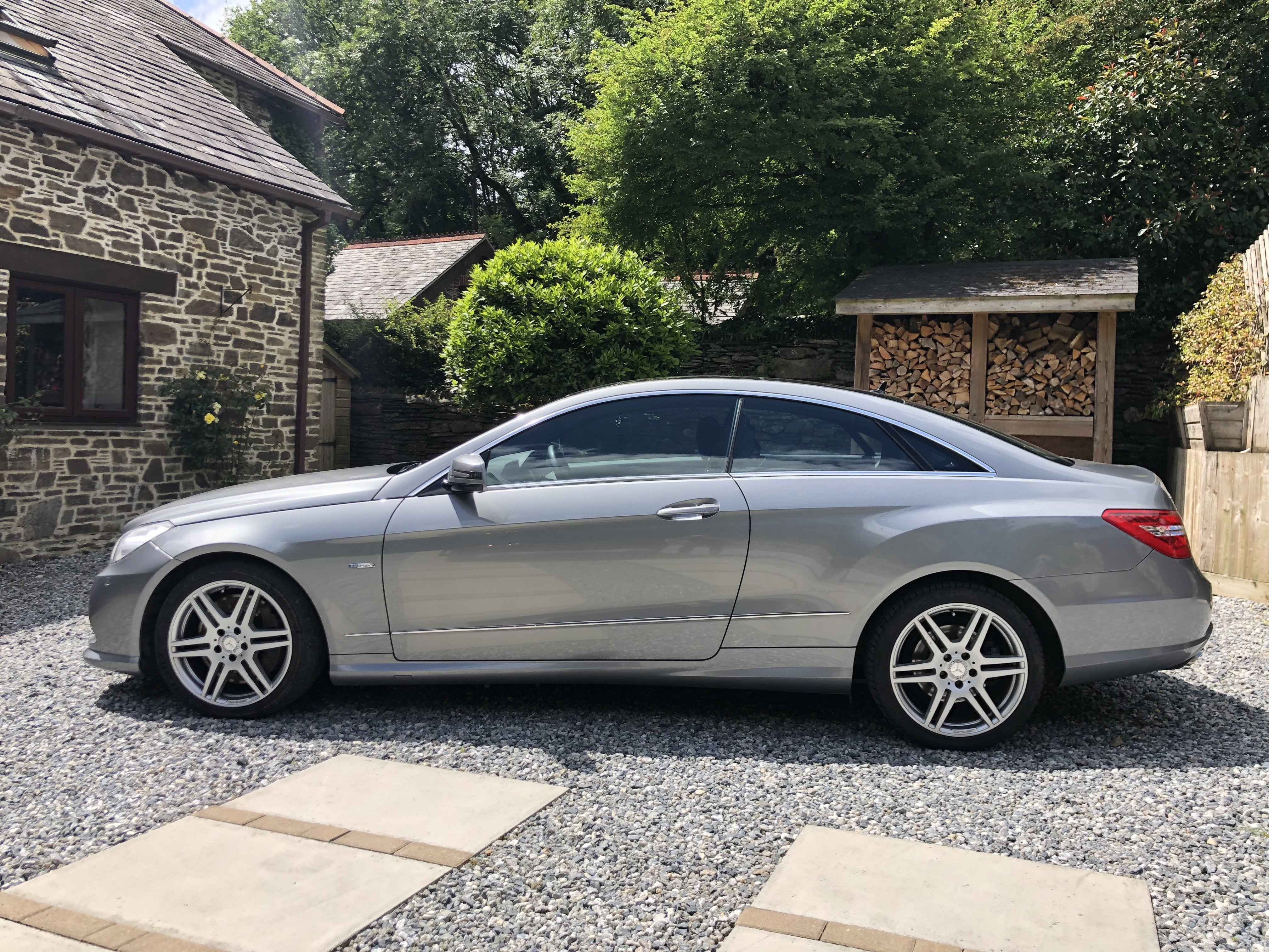 2011 Mercedes E Class Coupe 4.7 twin-turbo V8 (C207/M278 - MY12) For Sale (picture 2 of 6)