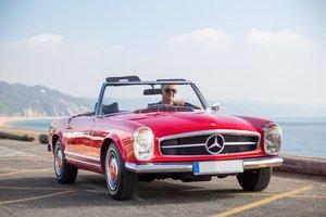 LHD Mercedes 230sl