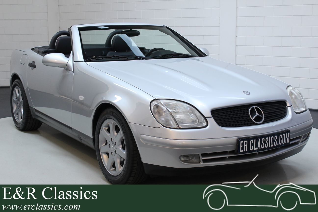 Mercedes-Benz SLK 230 Kompressor 1999 Only 42.372 km For Sale (picture 1 of 6)