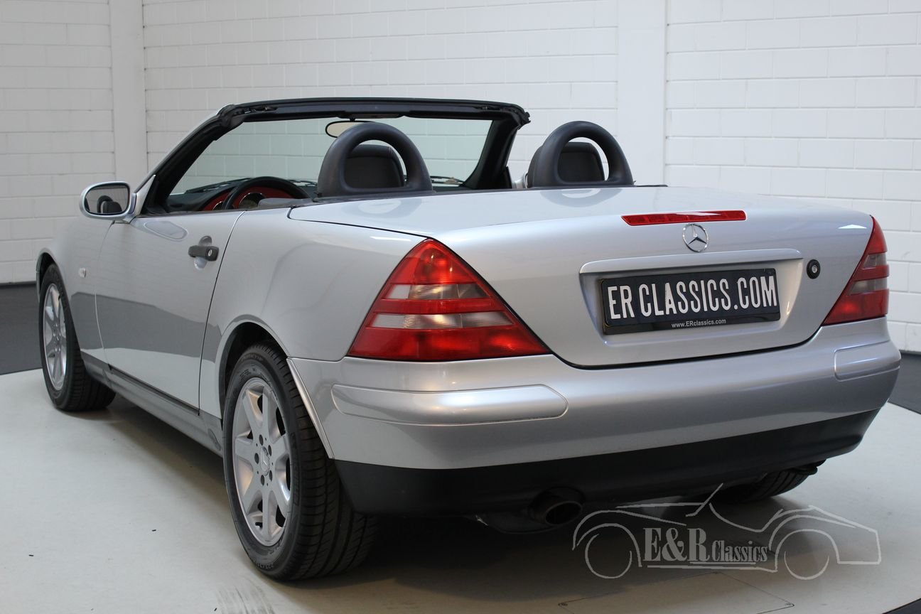 Mercedes-Benz SLK 230 Kompressor 1999 Only 42.372 km For Sale (picture 5 of 6)
