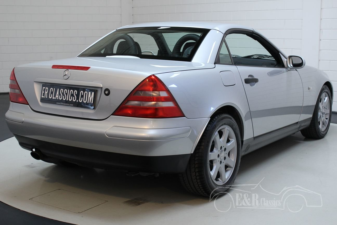 Mercedes-Benz SLK 230 Kompressor 1999 Only 42.372 km For Sale (picture 6 of 6)