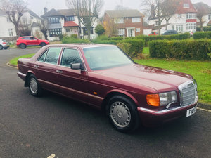 Picture of 1989 Mercedes 300SE Paget Red 4 owners